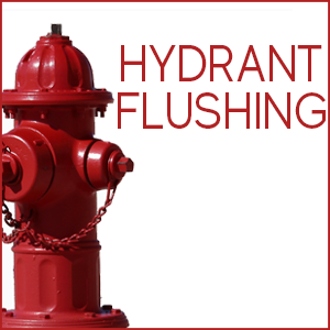 Fire Hydrant Flushing begins this week-April 22, 2019
